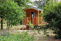 La Maison du Passant - chambres d'hotes et roulotte à chouze sur loire : photo de la roulotte