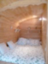 La Maison du Passant - chambres d'hotes et roulotte à chouze sur loire : quatrième photo de la roulotte