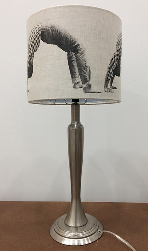 Bending Over Backward Lamp 2019