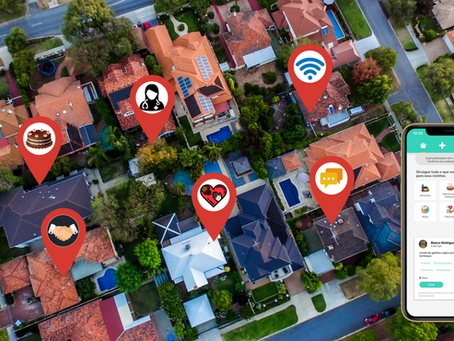 Aplicativo parar gerar vendas de casa para seus vizinhos.
