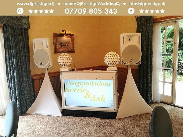Stower Grange Hotel Dj Prestige Wedding Dj Disc Jockey