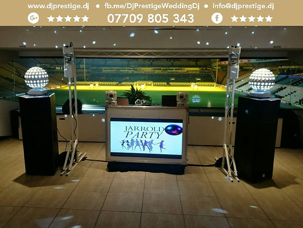 Norwich Football Club Party Dj Prestige