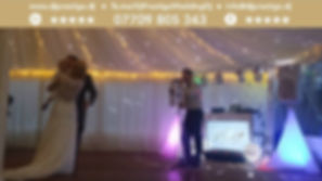 Somerleyton Hall Marquee Dj Prestige Wedding Dj Disc Jockey