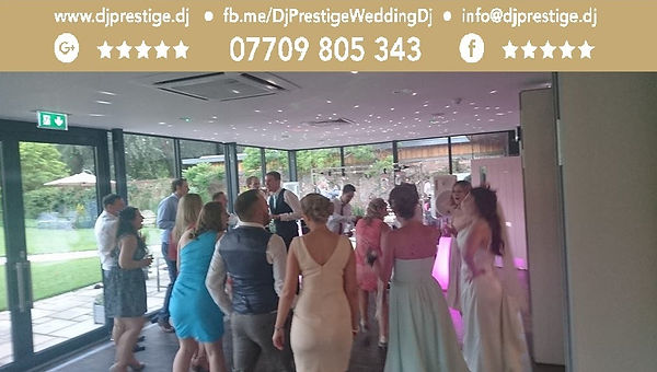 The Norfolk Mead Dj Prestige Wedding Dj Disc Jockey