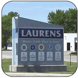 Laurens Chamber of Commerce_Greeting Monument