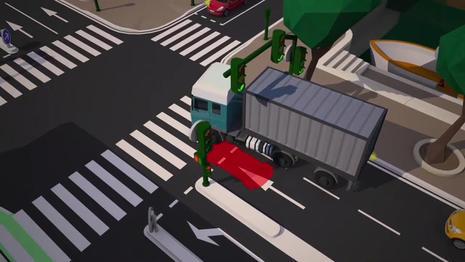 Cohabiter avec les camions