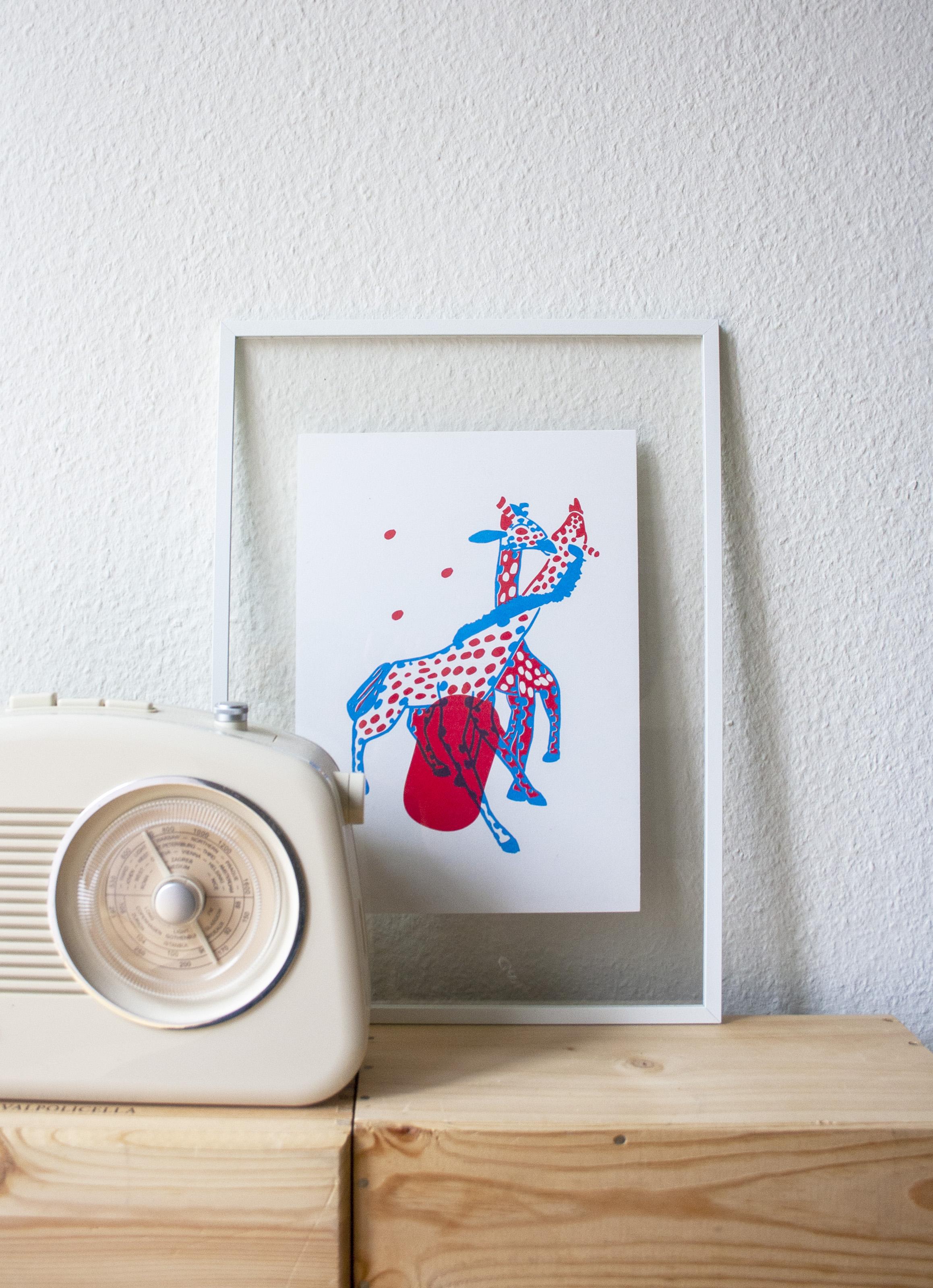 les girafes de l'amour