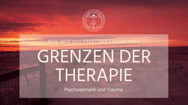 Grenzen der Therapie