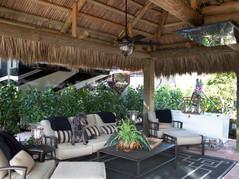 Tiki Hut Inside