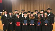 Slavnostní promoce studentů oboru Prostředí staveb a TZB (Ing.) v roce 2020