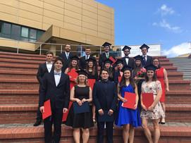 Slavnostní promoce studentů oboru Prostředí staveb a TZB (Ing. + Bc.) v roce 2021