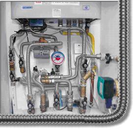 Nerezový systém pro plynovodní potrubí EUROTIS - EUROGAS!