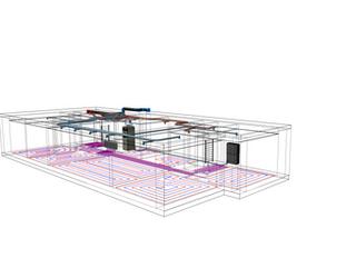 TZB modelář jako doplněk ArchiCADu - ukázky projektů