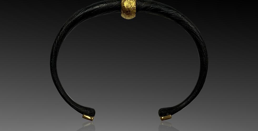 Damascus Steel Spin Bracelet - Woman's