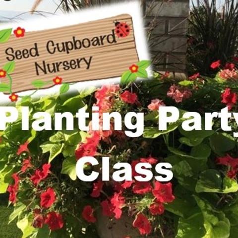 Planting Party - April 29th 10am