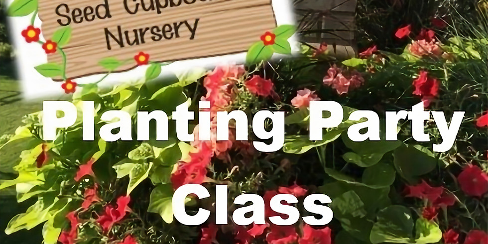 Mother's Day Planting Party