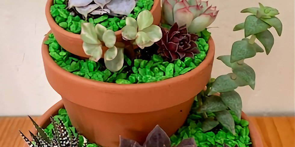 Tower Succulent Garden