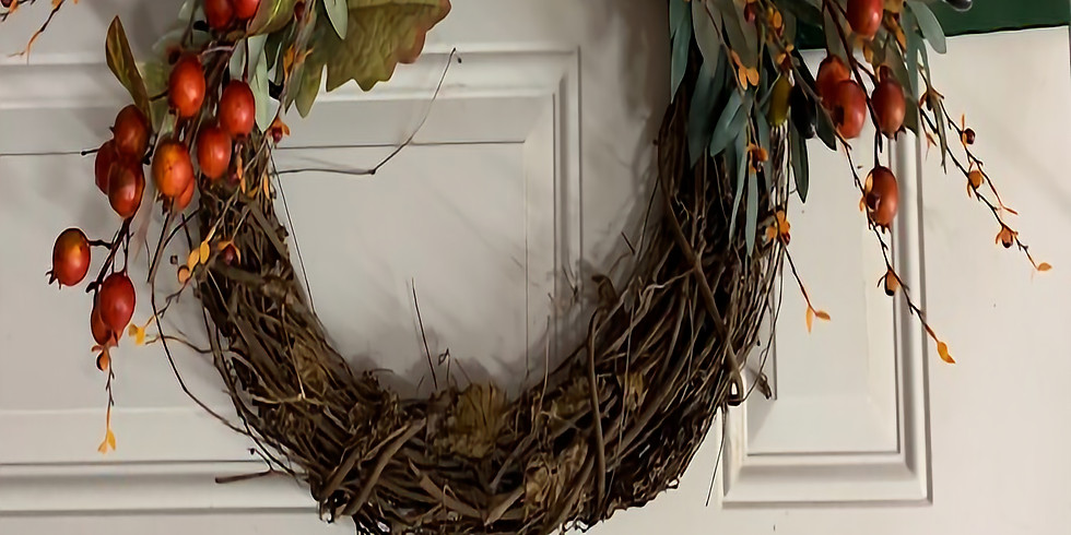 Fall Wreath Class - Night out
