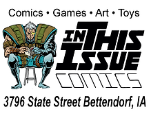 In This Issue Comics Logo
