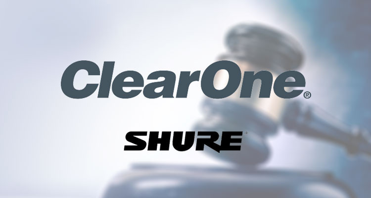 Updated: Court Orders Shure to Stop Selling the MXA910 Ceiling Array Microphone in ClearOne Prelimin