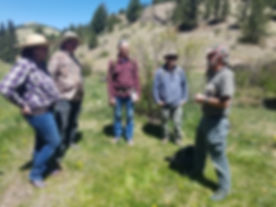 Guest Instructor Cattail Bob Colorado Mountain Man Survival