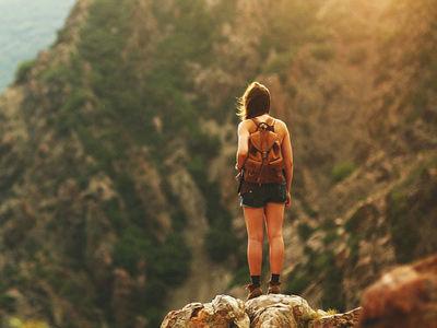 Advanced Wilderness Survival Training Girl
