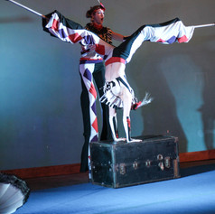Acro Stilts - Costumes by Corey Cheval