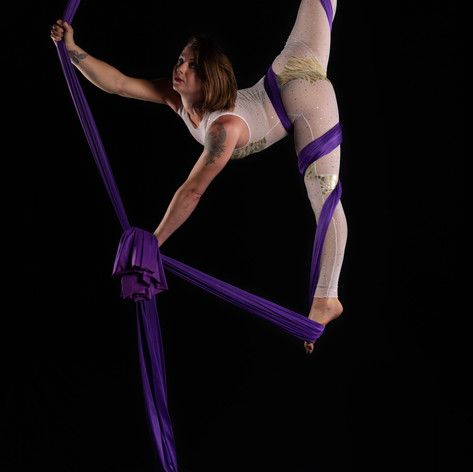 Aerial Silks - Costume by Corey Cheval