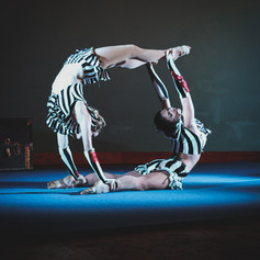 Acro-Tango Duet, Costumes by Corey Cheval