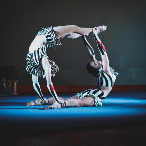 Acro-Tango Duet, Costumes by Corey Cheval