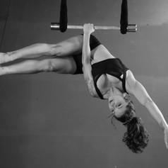 In the studio -static trapeze