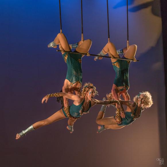 Triple Trapeze at Circus Star USA