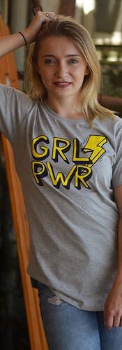 GRL PWR Cinza - Linda!