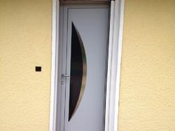 Porte Entrée PVC