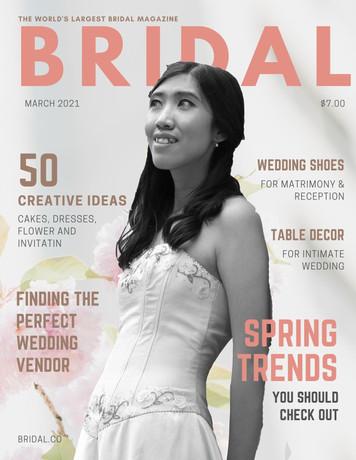 BRIDAL Magazine CoveR_diy MY PHOTOSHOOT_