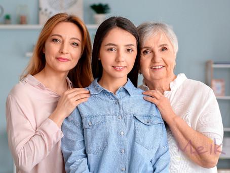 ¿Sabes cómo cuidar tu piel según la edad?           Aquí te contamos
