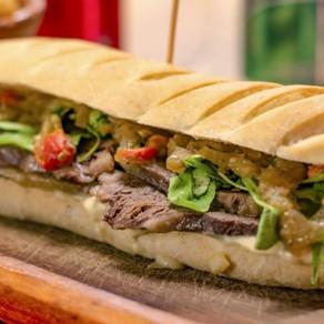 Picnic primaveral: sándwich de picaña
