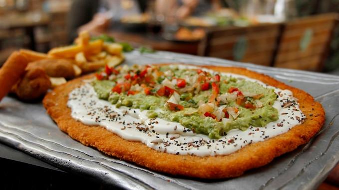 Milanesesa guacamole