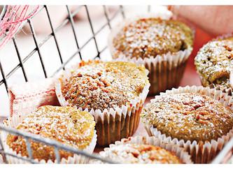 Muffins aromatizados con yerba