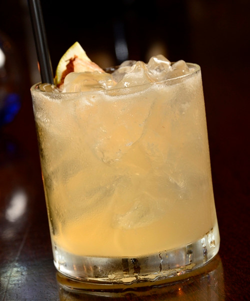 Ginger Honey Sour