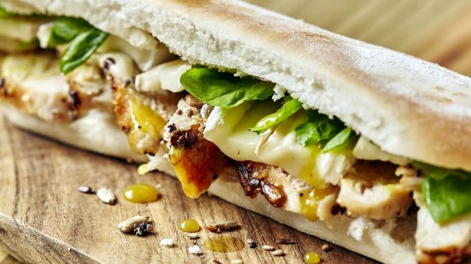 Receta sandwich de pollo