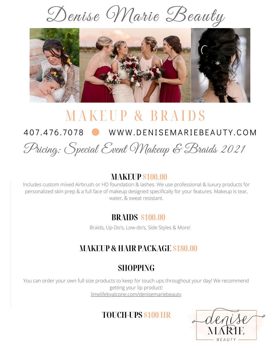 DENISE MARIE BEAUTY 2021 SPECIAL EVENT M