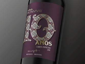 Club BonVivir festeja sus 10 años con un vino de edición limitada