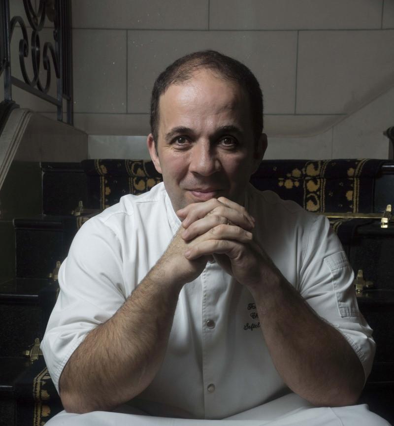 Olivier Falchi, chef de Sofitel