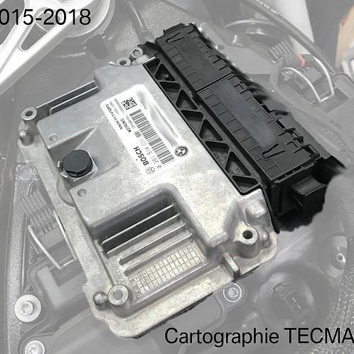Cartographie gestion moteur TECMAS pour RCK3