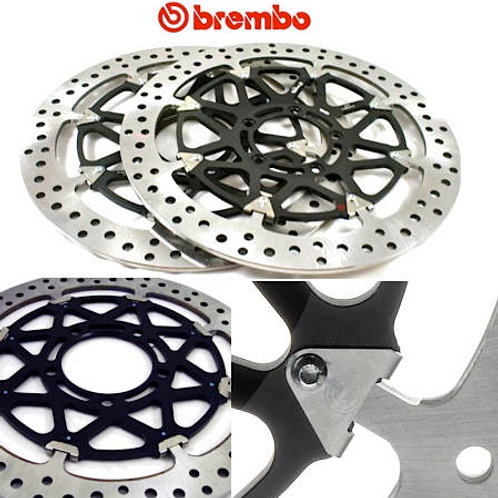 Paire de disques racing T-Drive Brembo