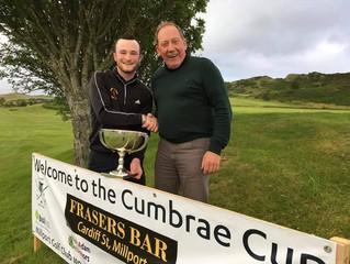 Craig Pirie Cumbrae Cup Winner 2017