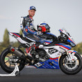 Alan Techer et sa BMW S1000RR