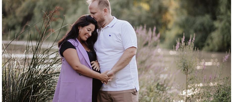 Sesión de embarazo, Conchita y Kitoli