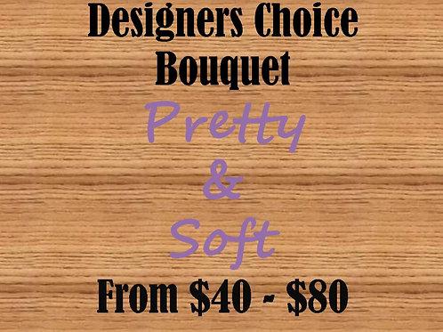 Designers Choice Bouquet, Pretty & Soft